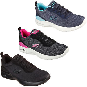 Skechers Workout Trainers Womens Athletic Mesh Walking Running Sports Sneakers