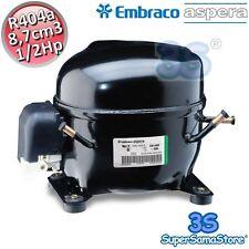 3S MOTORE Compressore FRIGO R404A R507 1/2 Hp 8,7 cm3 Embraco Aspera NEK2134GK