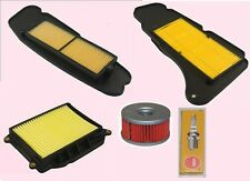 Service kit- Plug Air & Oil filters for YAMAHA YP  YP400 Majesty models 2004-16