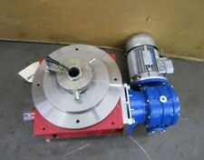 "CDS 1P880 11"" ROTARY INDEXER CAM LOBE INDEXING TABLE 440/480V 3PH 28:1 RATIO"