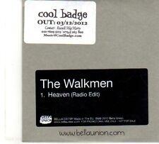 (DP896) The Walkmen, Heaven - 2012 DJ CD