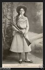 Annie Oakley Little Sure Shot of the Wild West Rifle Fine Art Print / Poster