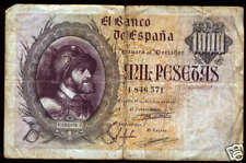 1000 Pesetas 1940 Carlos 1º @  BONITO EJEMPLAR @
