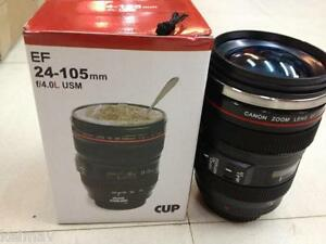 Canon Lens EF Thermal Travel Mug Cup 24-105m Stainless inside Tumbler Flask