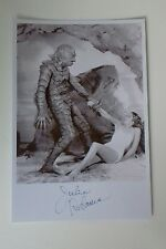 "UNIVERSAL HORROR MOVIES - Julie Adams Black Lagoon Reproduced Autograph 6""X4"""