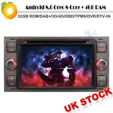 "7""Ford Focus MK II Car DVD Stereo Android 8.0 GPS Sat Nav DAB+Radio 4G OBD DVB-T"