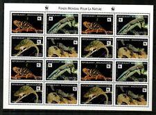 Malagasy Scott 1404 Mint NH mini-sheet (WWF) - Catalog Value $35.00