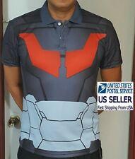 Mazinger Infinity Polo Shirt M. Unique Anime Robot Nagai Tranzor Z cosplay