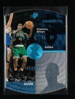 Chauncey Billups - 1997-98 SPX - Sky Blue Parallel - #3 - Rookie - Mint
