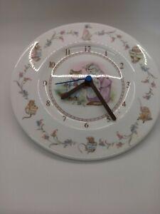 Beatrix Potter Royal Albert Nursery Wall Clock