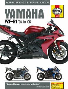 Yamaha YZF-R1 (04 - 06) Haynes Repair Manual