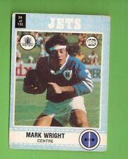 Newtown Jets 1977 Season NRL & Rugby League Trading Cards