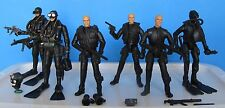 Forces of Valor Bravo Team PTE Navy Seals 1:18 Lot Ultimate Soldier GI Joe BBI