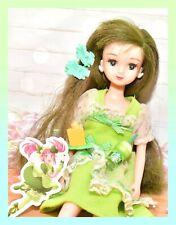 ��Vtg Takara Licca-chan Rika-chan Friend Green Apple Hair Izumi-chan Japan��