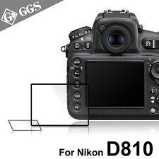 GGS IV LARMOR self-adhesive glass camera screen protector for Nikon D810