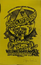 Shiva's Head Band at Armadillo | by M.Priest  -Orig. 1976 Concert Poster *Signed