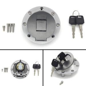 Fuel Gas Tank Cap Cover Keys for Yamaha TZR125RR TRX850 4FM-24602-10 TDR125