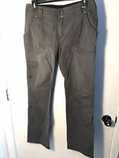 Arc'teryx Pants Cargo Women's 6 Gray Grey Cargo Pocket Leg Cotton Blend Casual