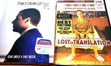 New listing Movie Drama ~ Lost in Translation & Punch Drunk Love (Dvd)