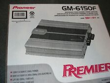 Pioneer GM-6150F Bridgeable 4-Channel Power Amplifier.  120W X 4Ch. Max. (NEW)..