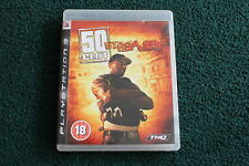 PLAYSTATION 3 PS3 50 CENT BLOOD ON THE SAND GAME BOXED COMPLETE - RAP RAPPER