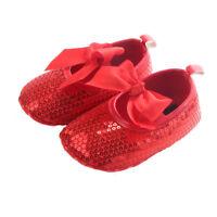 Cinda Bébé Filles Chaussures de Baptême Fête en 7 Couleurs 0 3 6 9 Mois