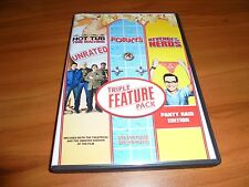 Hot Tub Time Machine/Porky's/Revenge Of The Nerds (DVD 3-Disc 2013) Used