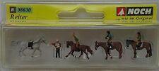 NOCH 36630 Riders & Horses 'N' Gauge Model Railway Figures