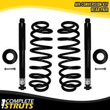 2004-05 GMC Envoy XUV Rear Air Spring to Coil Spring & Shock Absorber Conversion