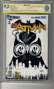 Batman (2011) # 4 1:200 Capullo Sketch RI - CBCS 9.2 WHITE Pages - SS3X Capullo,