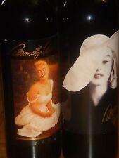 Marilyn Monroe 2001 2002 Merlot 2 Bottle Red Wine Set New Factory Sealed 750 ML
