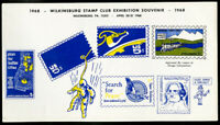 US Stamps Mr Zip 1968 Wilkinsburg Club S/S Space reproduction +
