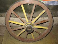 Geräte Alte Berufe Altes Wagenrad Speichenrad Holzrad Eisenreifen Ø 49 Cm