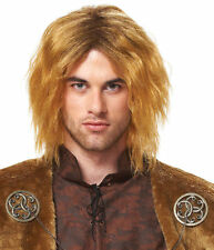 RENAISSANCE BARBARIAN THOR MEDIEVAL PRINCE KING COSTUME WIG ADULT MEN MALE BLOND