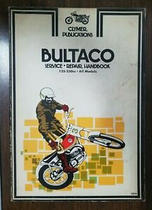 Used Clymer Bultaco 125-250cc All Models  M303  OMB5