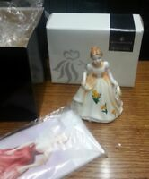 Royal Doulton Flower of the Month figurine OCTOBER boxed  FREE P&P