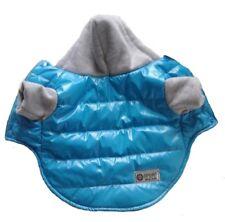 Hundebekleidung Hundejacke Hundemantel Winterjacke Regenjacke Regenmantel Blau S