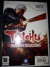 Jeux Wii Tenchu Shadow Assassins NEUF scellé sous blister full set
