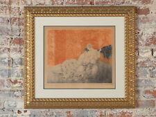"Louis Icart ""Mockery""original 1928 Color Etching-Pencil Signed"