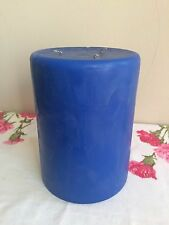 """Partylite Ocean Mist  3 - Wick Candle ~ 6"""" x 8"""" Candle,retired,rare,HTF, NEW"""