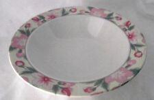 Arita Chintz Serving Bowl Dish Pink Green Floral New Traditions Japan China