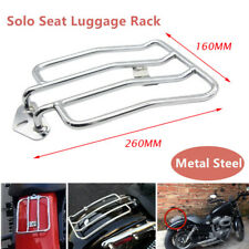 1*Motorcycle Modification Chrome Solo Seat Rear Fender Luggage Rack Travel Rack