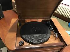 Dual NR 4 Nostalgie Musikanlage mit Plattenspieler