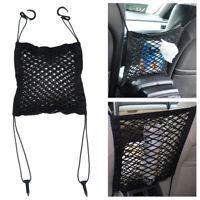 Nylon Car Truck Storage Luggage Hook Hanging Organizer Holder Seat Bag Mesh Net