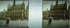 Photographie la Grand-Place de Bruxelles le 21 mai 1929 Belgique Belgium