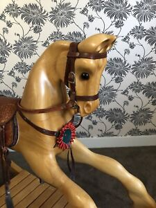 Handcrafted solid wood Rocking Horse