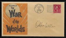 War Of The Worlds Radio Collector Envelope Original Period 1938 Stamp OP1240