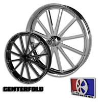 """21x5.5"""" Inch Centerfold Fat Tire Motorcycle Wheel for Harley Bagger Touring 180"""