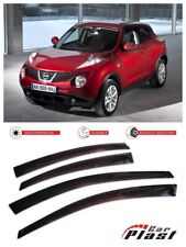 For Nissan Juke 2011+ Window Deflector Visor Vent Rain Wind Guard