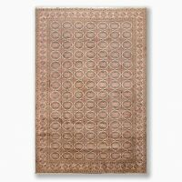 """6'5"""" x 9'7"""" Hand Knotted Kayseri Authentic Oushak Oriental Area Rug Beige"""